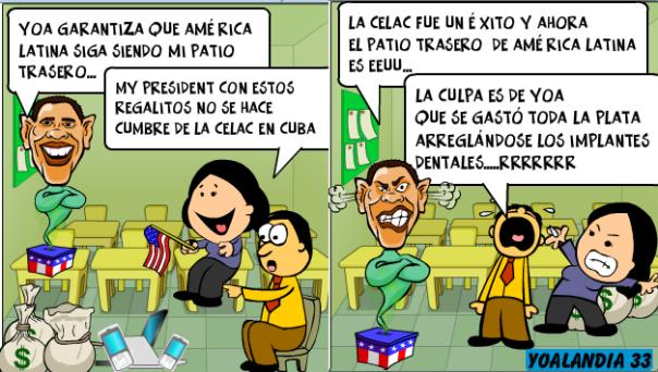 Yoani Sánchez vs la CELAC