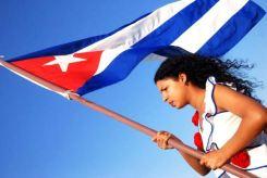 """…Esta mujer cubana, tan bella, tan heroica, tan abnegada, flor para amar, estrella para mirar, coraza para resistir""."