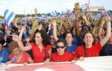"""""""La revolución tiene en las mujeres cubanas hoy día un verdadero ejército, una impresionante fuerza política."""""""