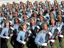 """""""Las mujeres constituyen un verdadero ejército al servicio de la Revolución…La mujer es una Revolución dentro de la Revolución…"""""""