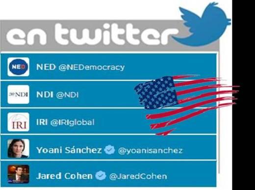 @yoanisanchez vinculos con NDI NED IRI
