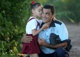 Inicio del curso escolar en Cuba. 1ro de septiembre de 2014. Poblado Ganuza, Municipio San José de las Lajas, Provincia Mayabeque.