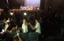 Propuesta de matrimonio durante el concierto