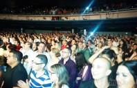 El público tarareó canciones como canciones como Pi 3,14, Catalejo, Melesio tenía razón y La otra orilla