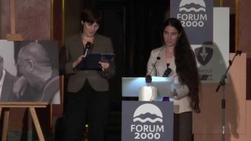 Yoani Sanchez en el forum 2000
