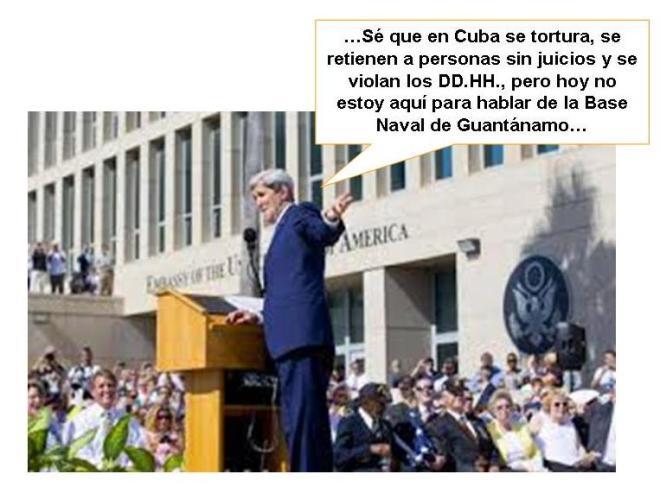 Kerry en La Habana