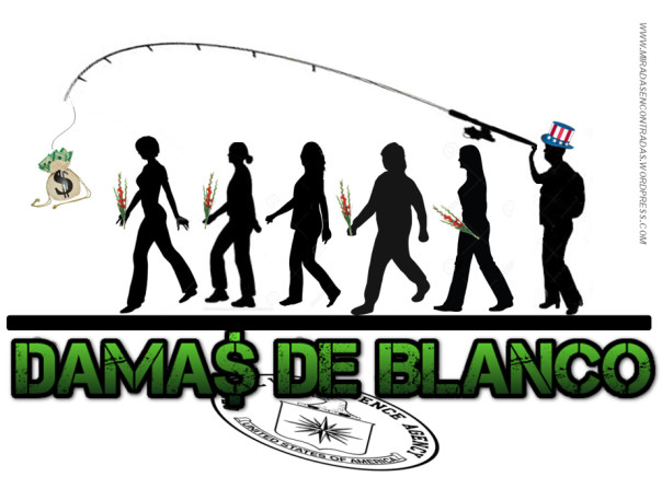 damas de blanco logo