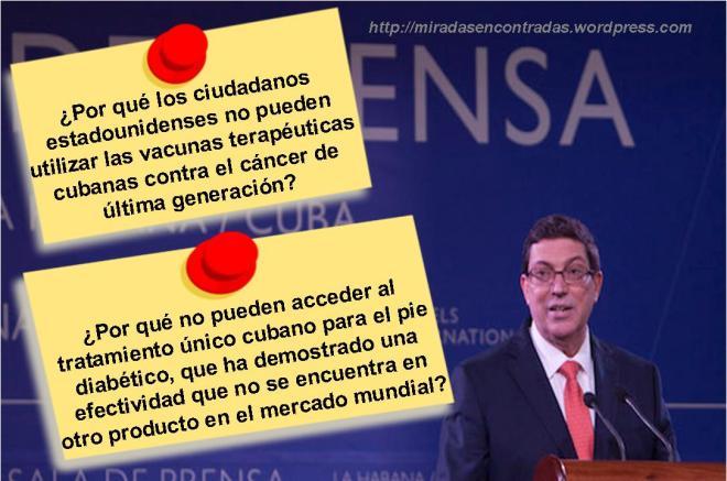 Declaración Bruno Rodríguez