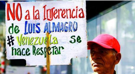 Resultado de imagen para Rechazamos que Almagro pretenda invocar la Carta Democrática en contra de Venezuela
