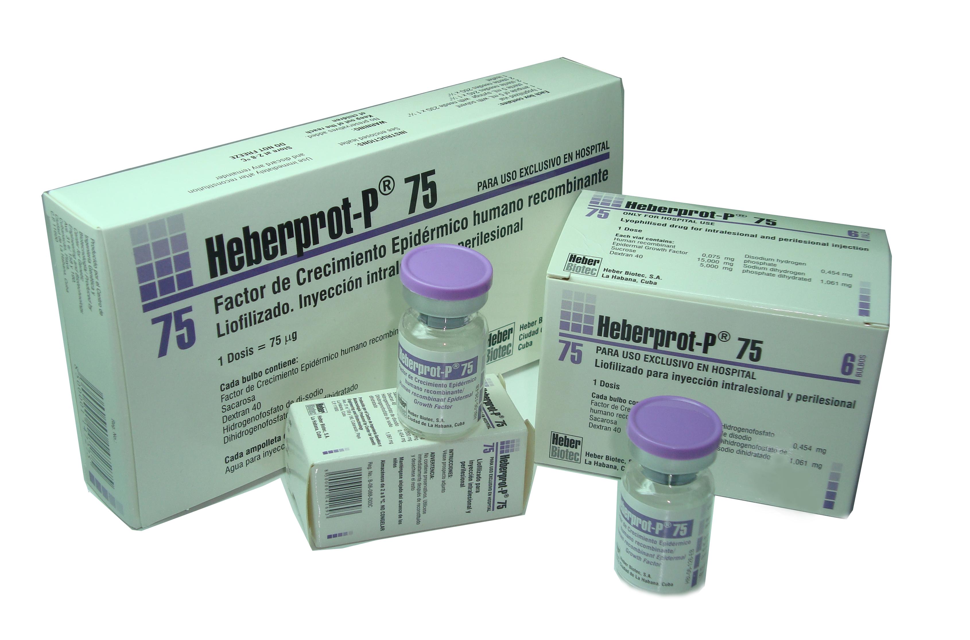 Aplicarán Heberprot-P en Unión Europea