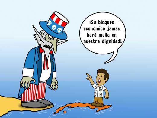Resultado de imagen para Imagenes del bloqueo a Cuba