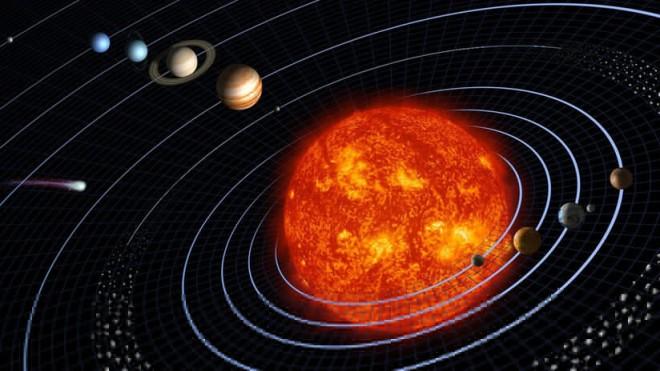 como se originó el sistema solar