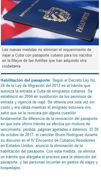 Nuevas medidas migratorias entraron en vigor este 1ro de enero de 2018