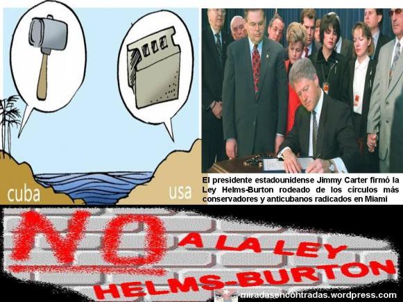 Condenan juristas cubanos la ley Helms-Burton